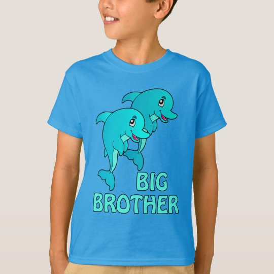 Dolphins Big Brother Dolphin Kids T-shirt