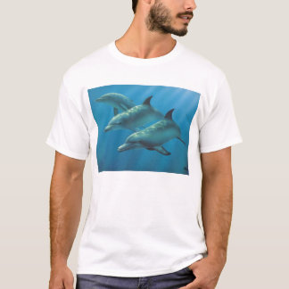 Dolphins by Andrew Patsalou T-Shirt