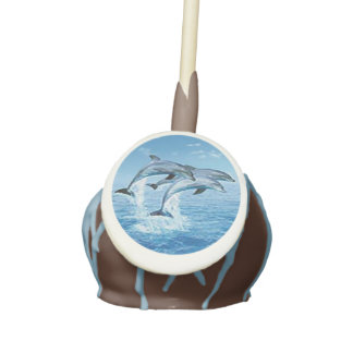 Dolphins Cake Pops