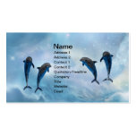 Dolphins fantasy business cards