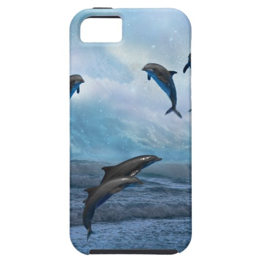 Dolphins fantasy case for the iPhone 5