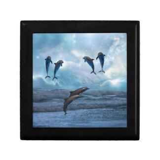 Dolphins fantasy gift box