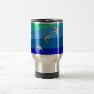 Dolphins (Floridia and Mississippi).jpg Travel Mug