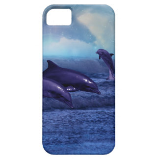 Dolphins fun and play iPhone 5 cases