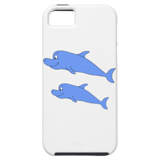 Dolphins in blue. iPhone 5 case