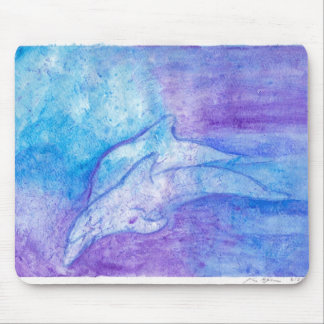 Dolphins In Blue Mouse Mat