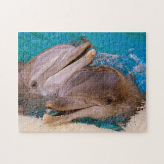 Dolphins in Nevada. Jigsaw Puzzle