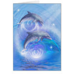 Dolphins Joyride Greeting Cards