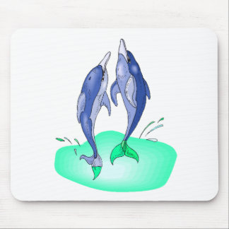 Dolphins Jumping Mousepads