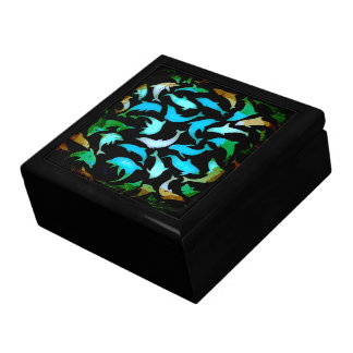 Dolphins Keepsake Jewelry Gift Box
