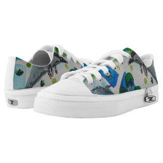 Dolphins Low Tops
