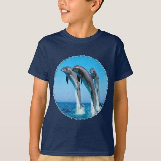 Dolphins Nautical Ocean Kids T-shirt
