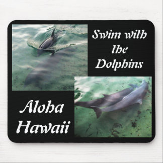 Dolphins of Hawaii Mouse Mat