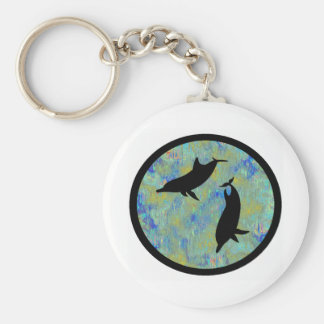 DOLPHINS OF TOMORROW KEY RING