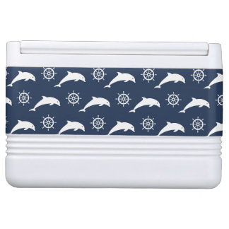 Dolphins On Parade Pattern Igloo Cool Box