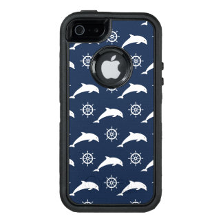 Dolphins On Parade Pattern OtterBox iPhone 5/5s/SE Case
