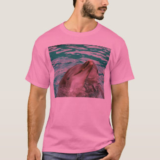 Dolphins pink tee