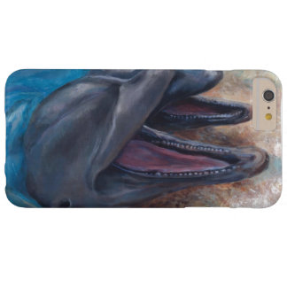 Dolphins showing off barely there iPhone 6 plus case
