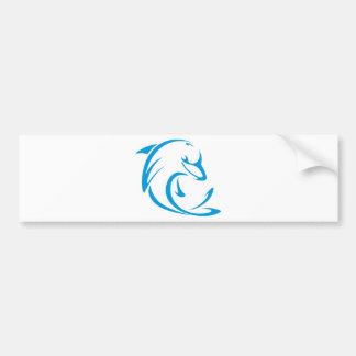 Dolphins T Shirt | Cool Dolphins T Shirt Logo Bumper Sticker
