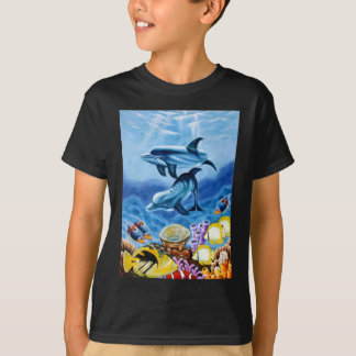 Dolphins Tropical Fish T-Shirt