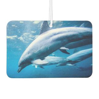 Dolphins Underwater Car Air Freshener
