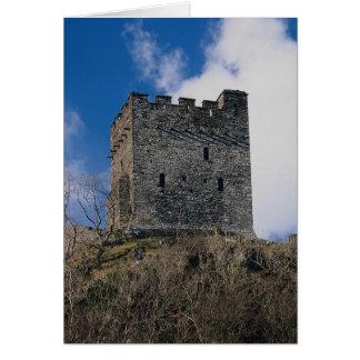 Dolwyddelan Castle, built 1200 by Llewellyn ab lor Card