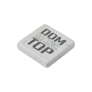 Dom Masc Top Stone Magnet