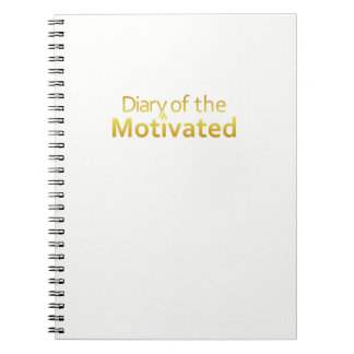 DoM - Notebook of the Motivated (White)