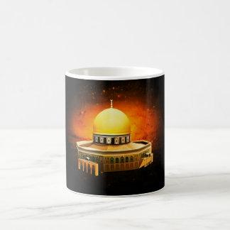 dom of stone mosque, (Jerusalem) Basic White Mug
