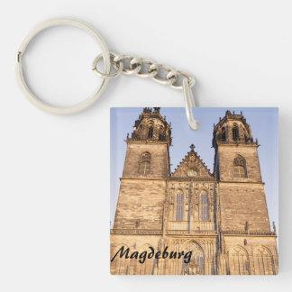 Dom zu Magdeburg St. Mauritius und Katharina photo Key Ring
