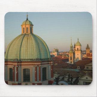 Dome of Church of Saint Francis, Prague, Czech Mouse Mat