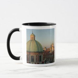 Dome of Church of Saint Francis, Prague, Czech Mug