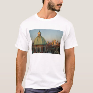 Dome of Church of Saint Francis, Prague, Czech T-Shirt
