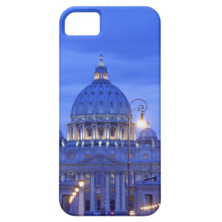 Dome of Saint Peter's Basilica at dusk iPhone 5 Covers