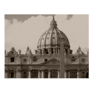 Dome of St Peters Basilica Rome Postcard