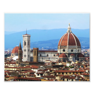 Dome of the Duomo, Florence Photo Print