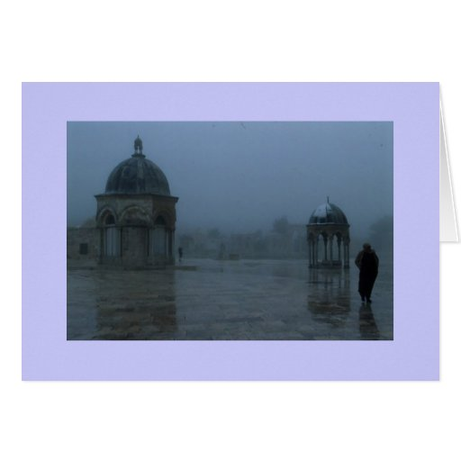 """""""Dome of the Rock"""" Card"""