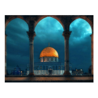 Dome of the Rock in Old Jerusalem Postcard