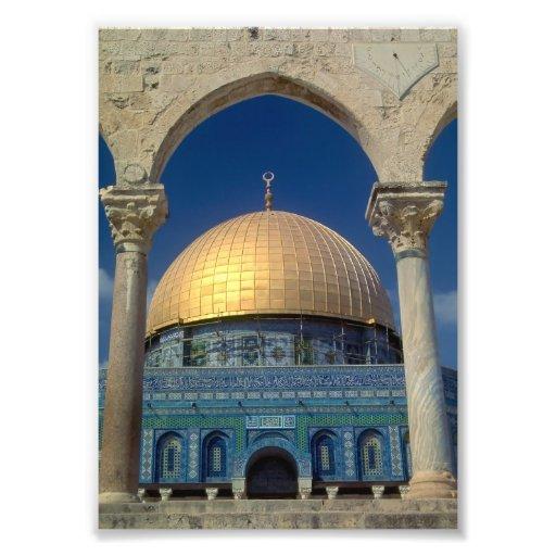 """Dome of the rock, Jerusalem"" 5x7 print Photo Print"