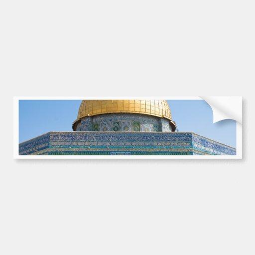 Dome of the Rock Jerusalem Bumper Stickers