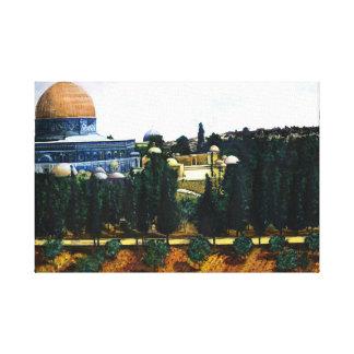 Dome of the Rock, Jerusalem Canvas Prints