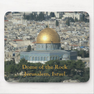 Dome of the Rock Jerusalem, Israel Mouse Pad