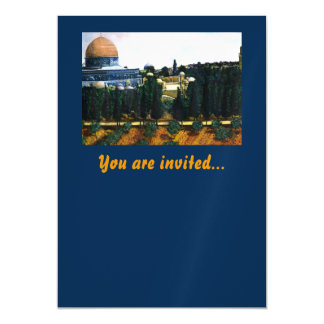 Dome of the Rock, Jerusalem Magnetic Invitations