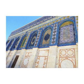 Dome Of The Rock: Jerusalem, Palestine Canvas Prints