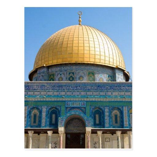 Dome of the Rock Jerusalem Post Card