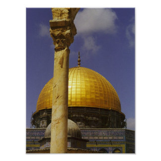 Dome of the Rock, Jerusalem Poster