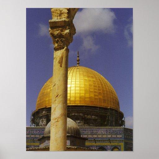 Dome of the Rock, Jerusalem Print