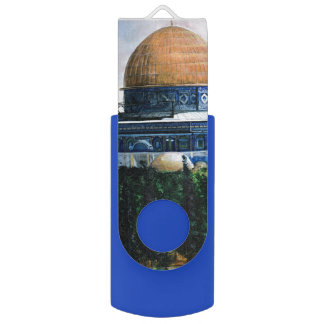 Dome of the Rock, Jerusalem Swivel USB 2.0 Flash Drive