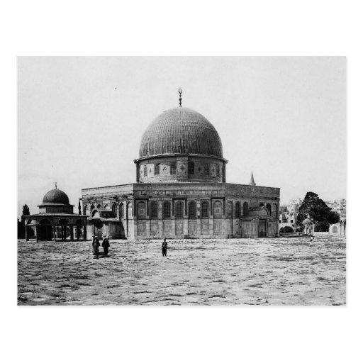Dome of the Rock, Jerusalem Vintage Postcard