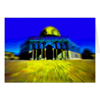 Dome Of The Rock Notecard Note Card